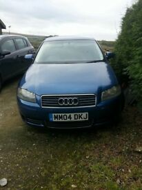 Audi A3 2.0 ltr TDI GENUINE LOW MILEAGE !!! ONLY 2 PREVIOUS OWNERS