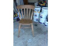Farmhouse kitchen chairs four off.