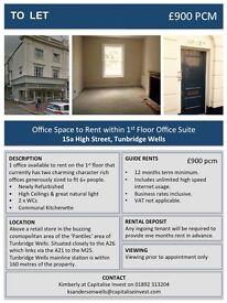 Office to LET - Tunbridge Wells High Street