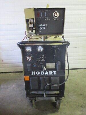 Hobart Rc-301 Welder 300 Amp With Hobart 2210 Wire Feeder
