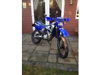 yamaha dt125r working mint, everything works fine, only a couple age related marks