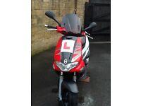 Gilera runner vx125 motorbike/moped