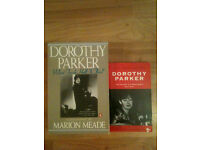 2 Dorothy Parker Books: What Fresh Hell is This? (Biography) & Uncollected Dorothy Parker