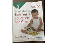 EARLY YEARS EDUCATION AND CARE, LEVEL 2 CHILD CARE