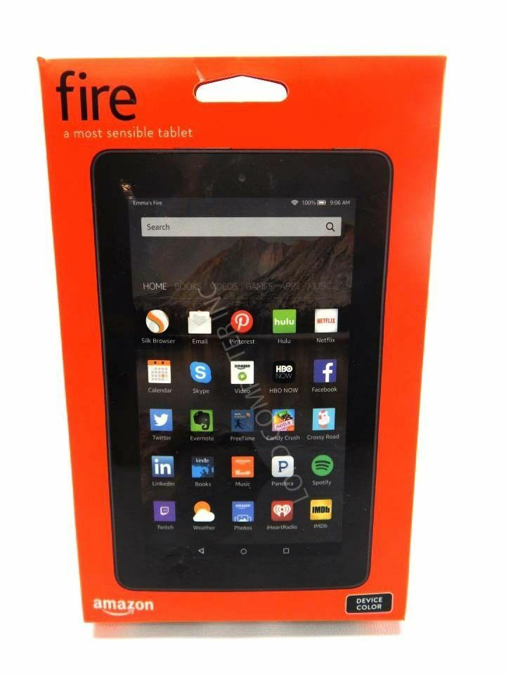 """Fire Tablet With Alexa, 7"""" Display, 8 Gb, Black - With Special Offers (Previous Generation - 5th) 9"""