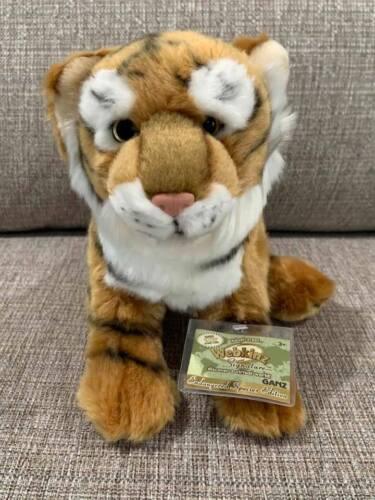 Brand New Webkinz Signature Endangered Bengal Tiger NWT Sealed Code - Retired