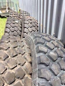 Unimog tyres Michelin 395-85 X 20 Dakabin Pine Rivers Area Preview