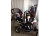 Jane powertwin double buggy £120