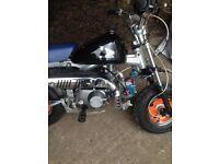 monkey bike and 100cc quad