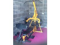 Powertec multi gym with weights