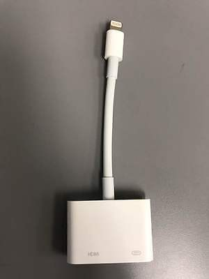 Lightning Digital AV Adapter to HDMI Port iPhone iPad MD826AM/A NEW OEM Package