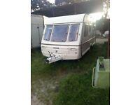 Swift challenger 450/5 berth touring caravan 1992