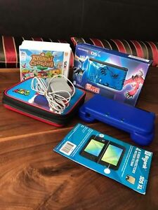 Like new in box Nintendo 3DS XL + Bundle + Receipt