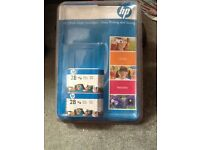 HP coloured ink pack of 2