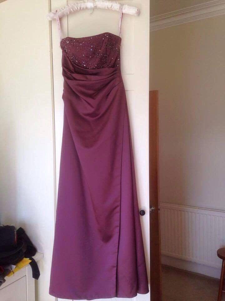 Size 10 Mauve Bridesmaid dress | in Dumbarton, West Dunbartonshire ...