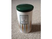 Job Lot 4x Yankee Candle Ceramic Tumblers. Soy Candles. Festive Scents. Brand New and Unused.