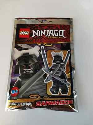 Lego Ninjago Legacy 111901 Garmadon Minifigure Polybag BNIP Sealed FREE POSTAGE