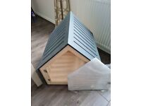 New stylish scandi style PET Dog / puppy House Bed with optional door if crate training. Rrp £300
