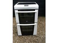 Zanusi Freestanding double oven electric cooker