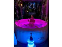 Hot tub hire Party Spa Hire Party Lay z spa Jacuzzi