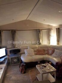 3 bedroom 6 berth Family Caravan at Craig Tara