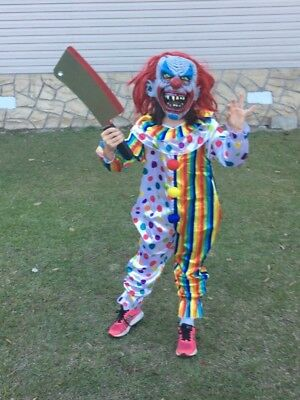 Child scary clown costume unisex](Scary Clown Kids Costumes)