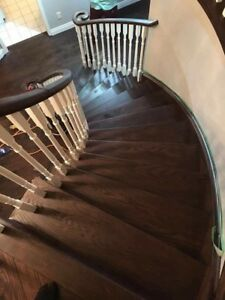 Hardwood,laminate stairs capping and refinishing,tiles and more