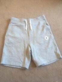 converse mens shorts size small.