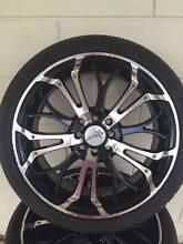 """17"""" Multi Stud Wheels (4 stud) Blacktown Blacktown Area Preview"""