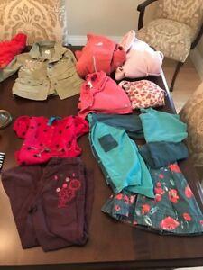 Lot vêtements fille 4-5 ans