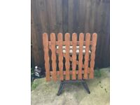 3ft X 3ft Treated Wooden Picket Garden Gate Wood High Quality Handmade ONLY 3 LEFT