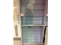 Glass Display Cabinet - available with doors.