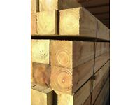 fence posts 4x4 wood timber