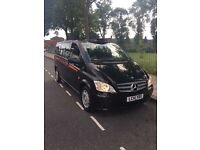 MERCEDES VITO BLACK-CAB, 113CDi, EURO 5, 2014 (14 PLATE), AUTO, FOR SALE