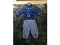 Kids pirate outfit.