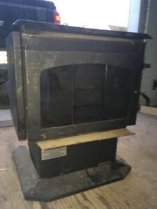 Oil fire place