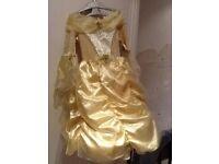 Bella's Golden Ball Gown
