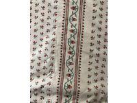 Pair of Handmade, Interlined GP & J Baker Fabric Curtains