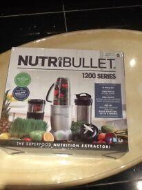 Brand new boxed nutribullet 1200 series