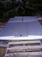 Tonneau hardcover 3 doors with locks..off dodge quad cab REDUCED