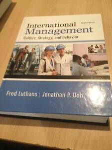 international management (griffith university textbook) Southport Gold Coast City Preview