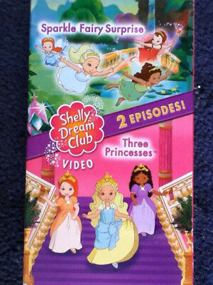 Shelly Dream Club Sparkle Fairy Surprise/The Princesses  [VHS] for sale  Shipping to Nigeria