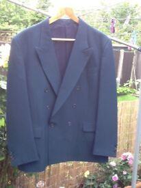 2 Men's Indigo polyester suits £6 each