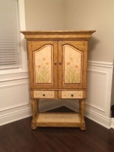 Wine Hutch & marching Nesting Tables
