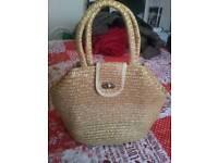 Lovely wicker handbag