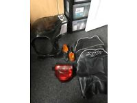 xjr1300 seat cover ,back light ,indicators,headlight screen,may swap