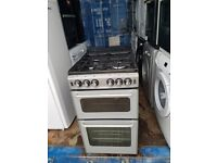 Silver&Black 'New World' Gas Cooker - Excellent Condition / Free local delivery
