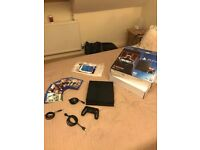 Playstation PS4 500gb- Black- with 5 Games