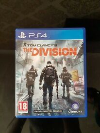 *Tom Clancy's The Division PS4*