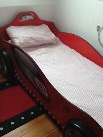 Single bed, kids car bed
